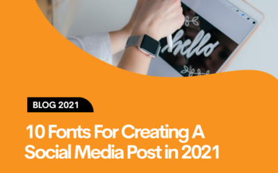 10 Best Fonts For Creating Great Social Media Posts in 2021!